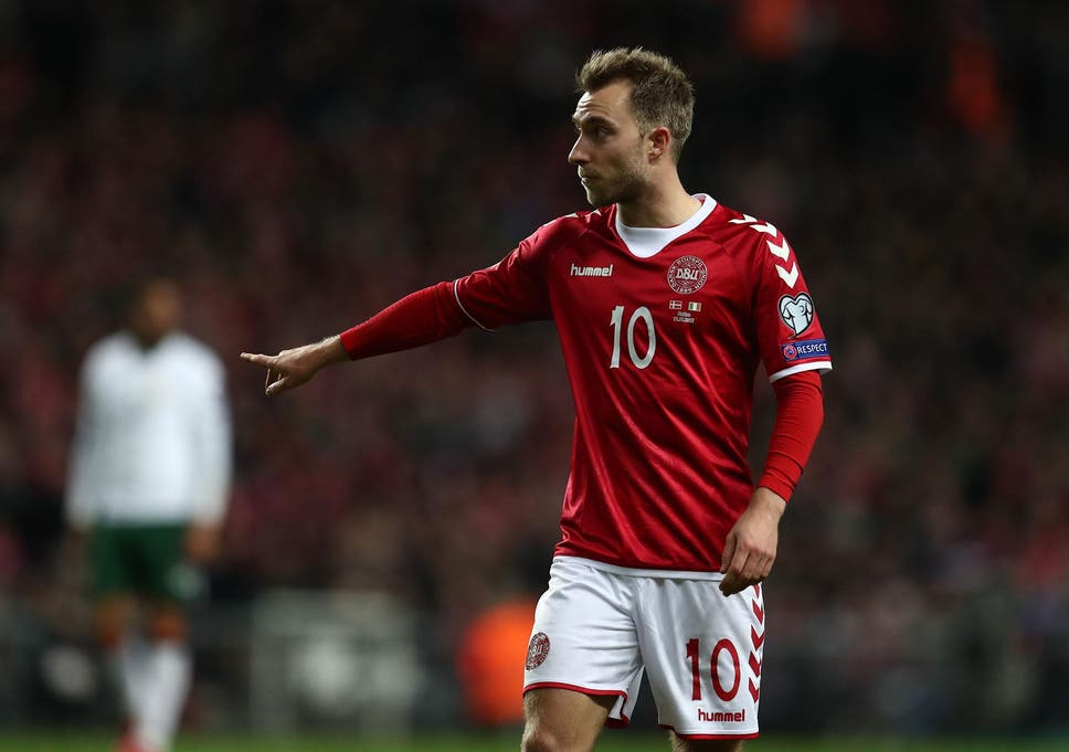 e26b47cb019 Christian Eriksen has set his heart on reaching the 2018 World Cup with  Denmark