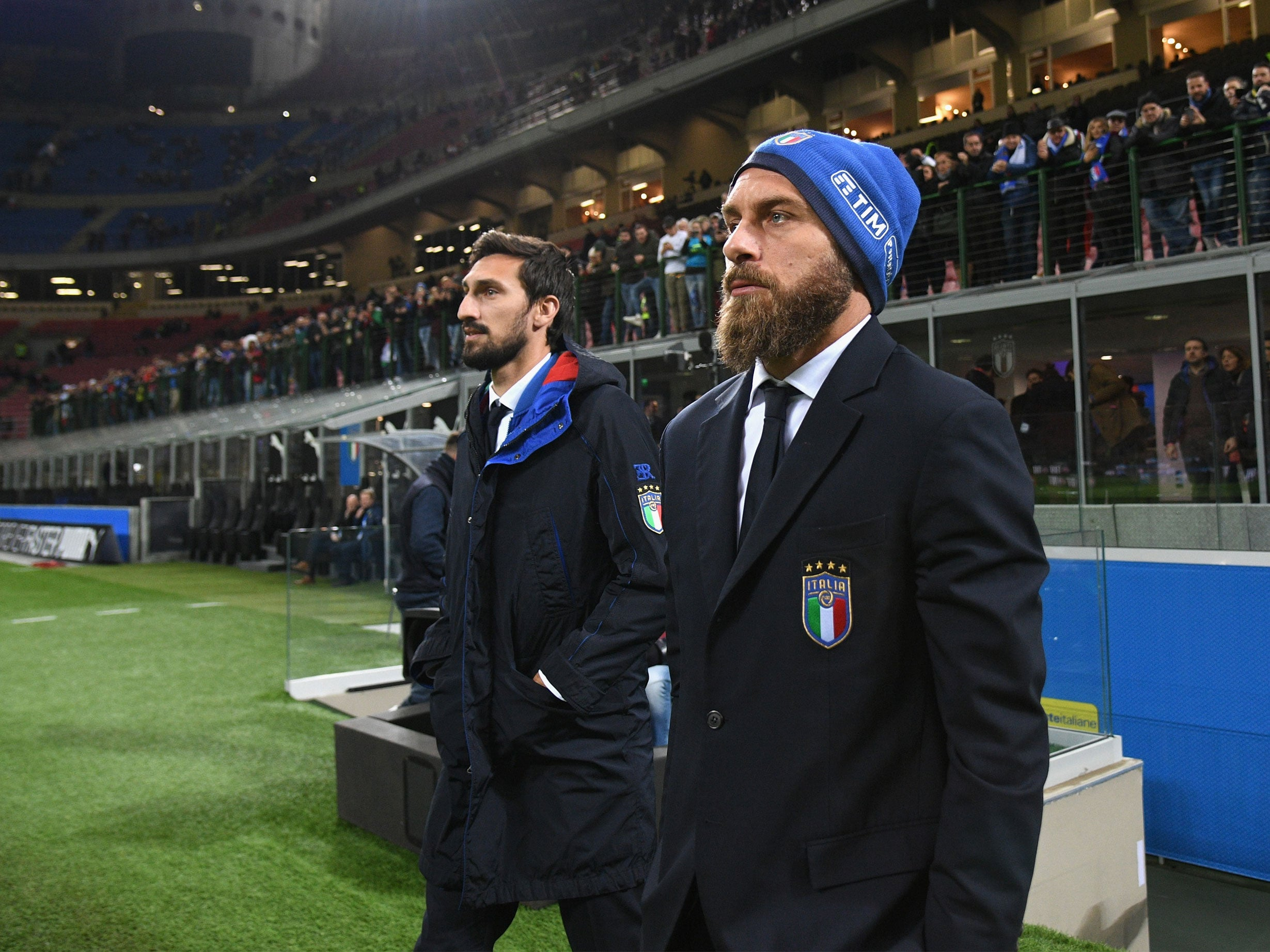 What Italy s Daniele de Rossi said when asked to warm up during