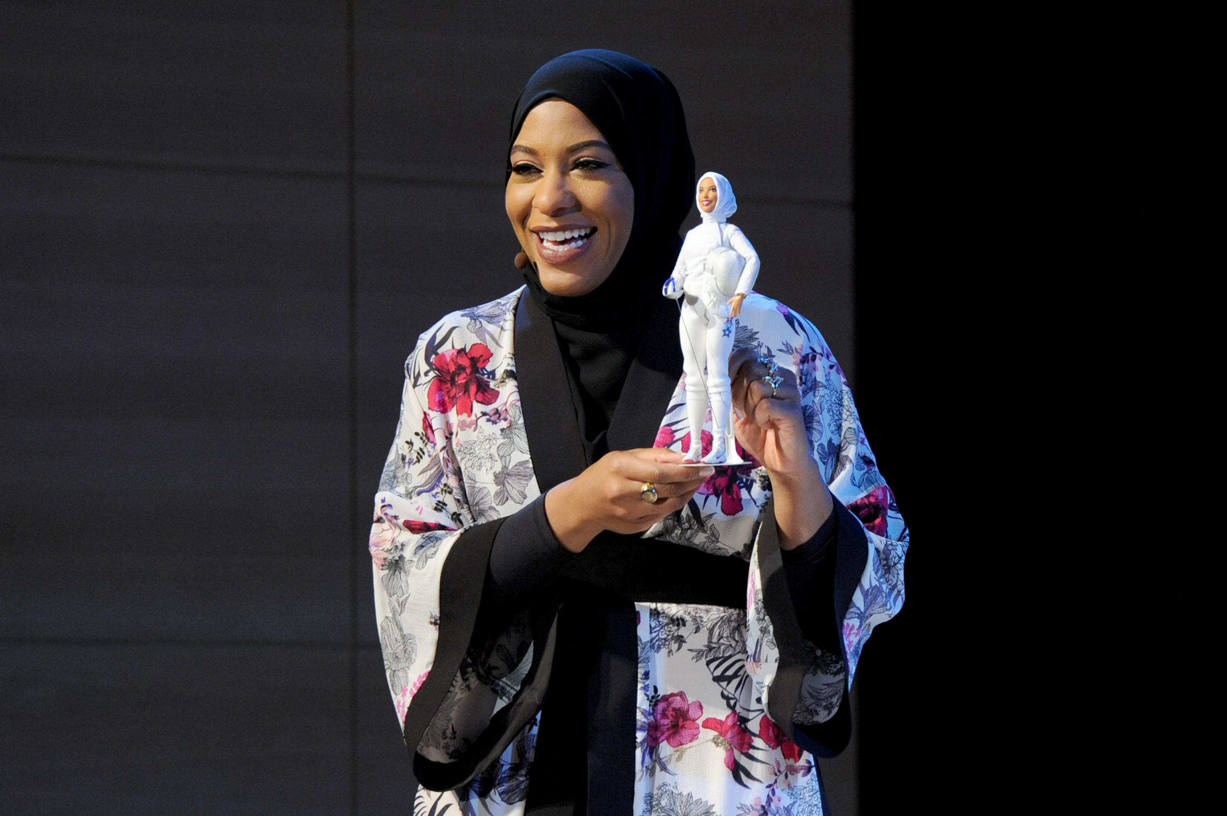 Barbie has a hijab for the first time as this badass Olympic fencer