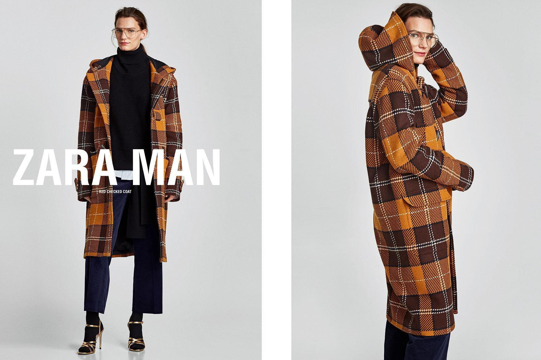 3c990940 Zara alludes to going gender-neutral, with men and women modelling same  clothes