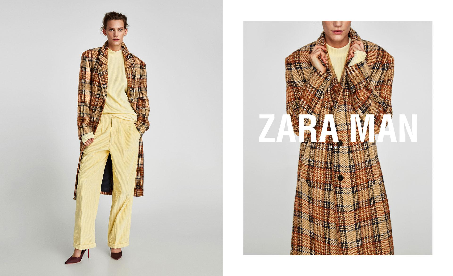 90437bf3 Zara alludes to going gender-neutral, with men and women modelling ...