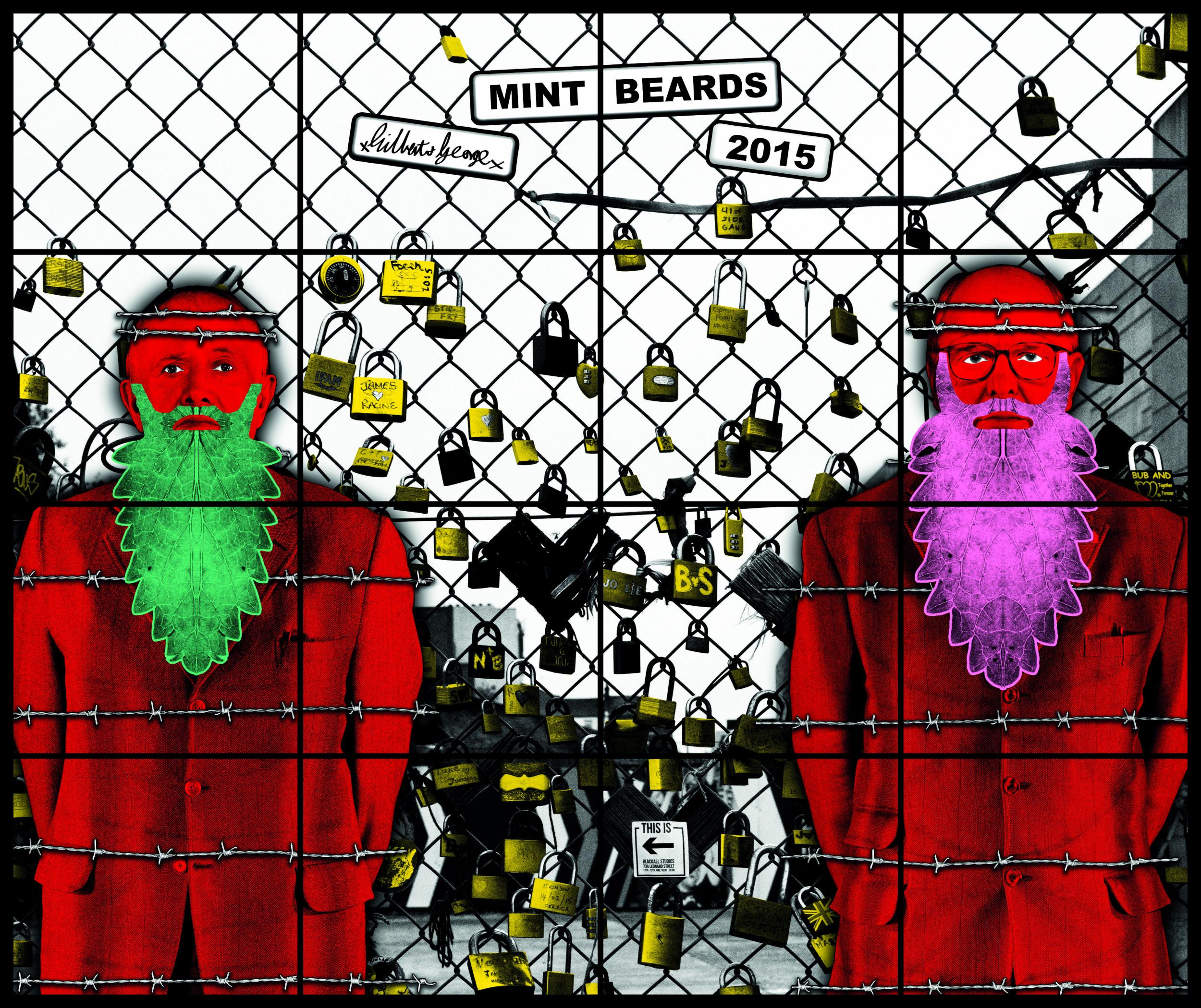 Gilbert george what exactly do we remember them for the gilbert george mint beards 2015 gilbert george courtesy white cube fandeluxe Image collections