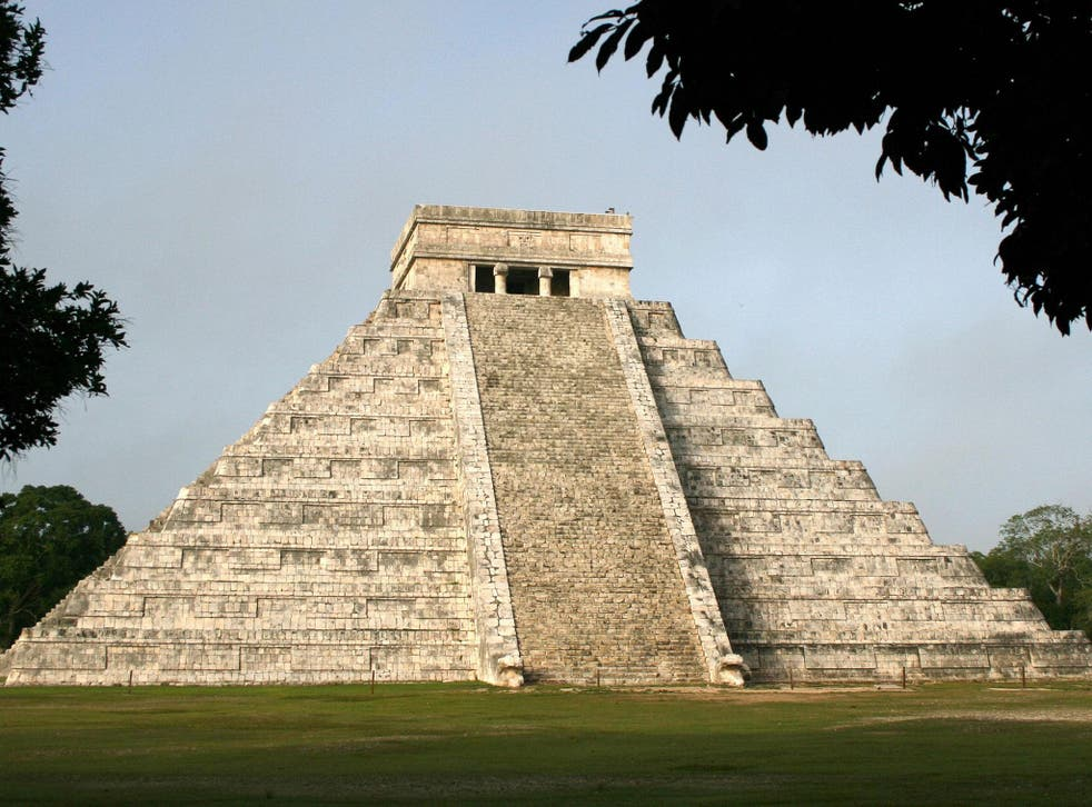 Experts discovered the tunnel under the Kulkulcan pyramid, which is part of the Chichen Itza archaeological site in Yucatan, Mexico
