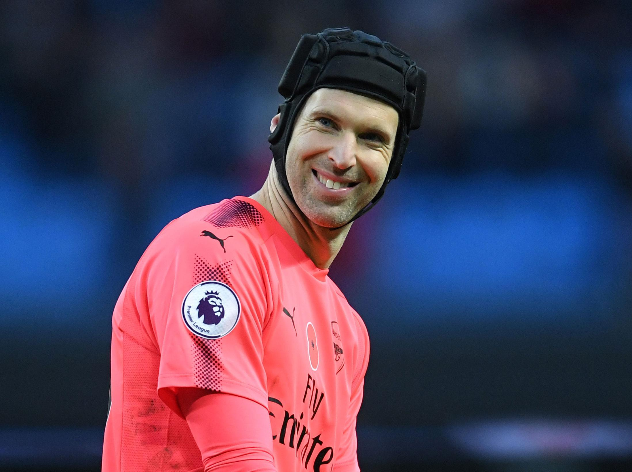 Arsenal s Petr Cech starts north London derby mind games early