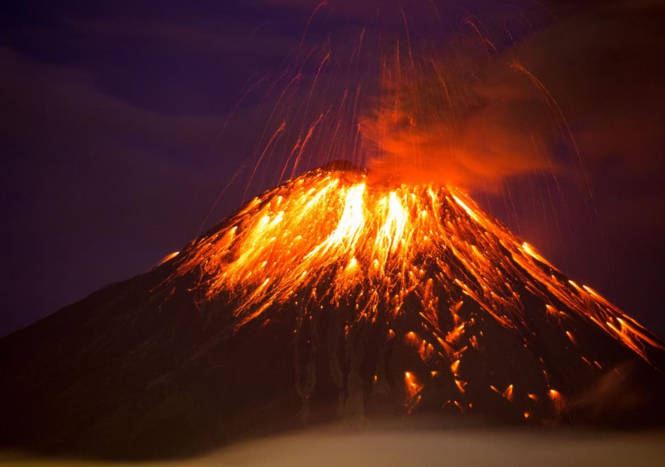 artificial volcanoes designed to reverse global warming could risk