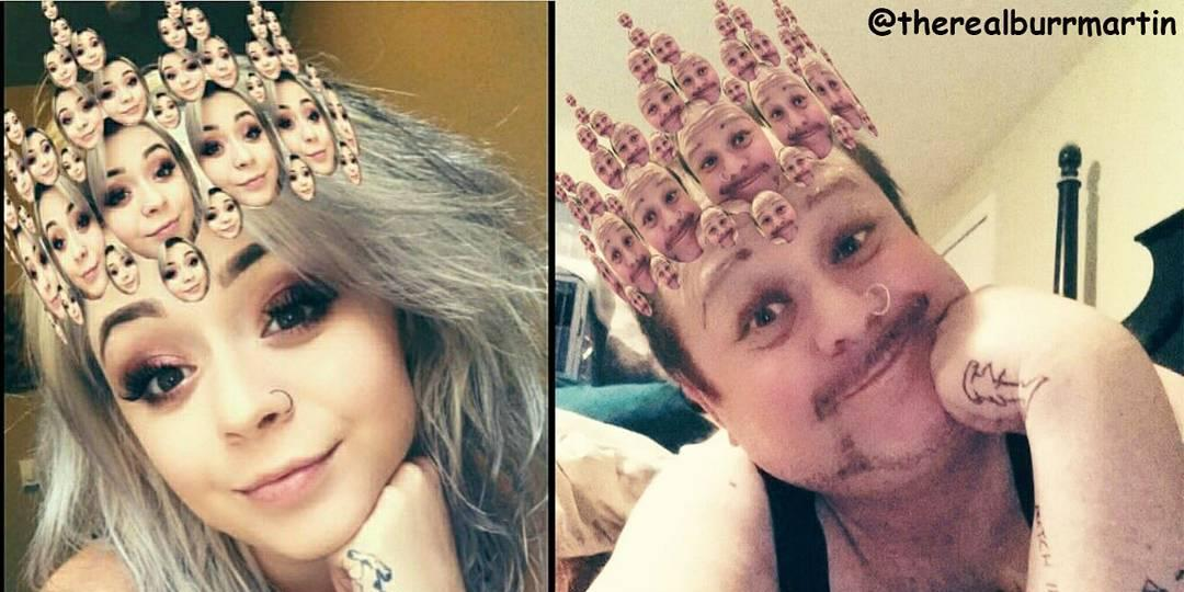 Dad who copies his daughter's Instagram selfies now has more followers than she does