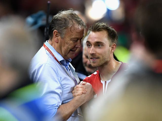 Aage Hareide was delighted with the performance of his playmaker