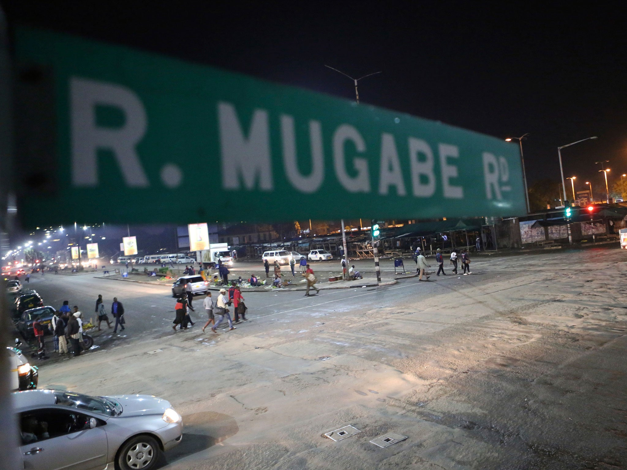 Soldiers have reportedly taken over Zimbabwe's state broadcaster