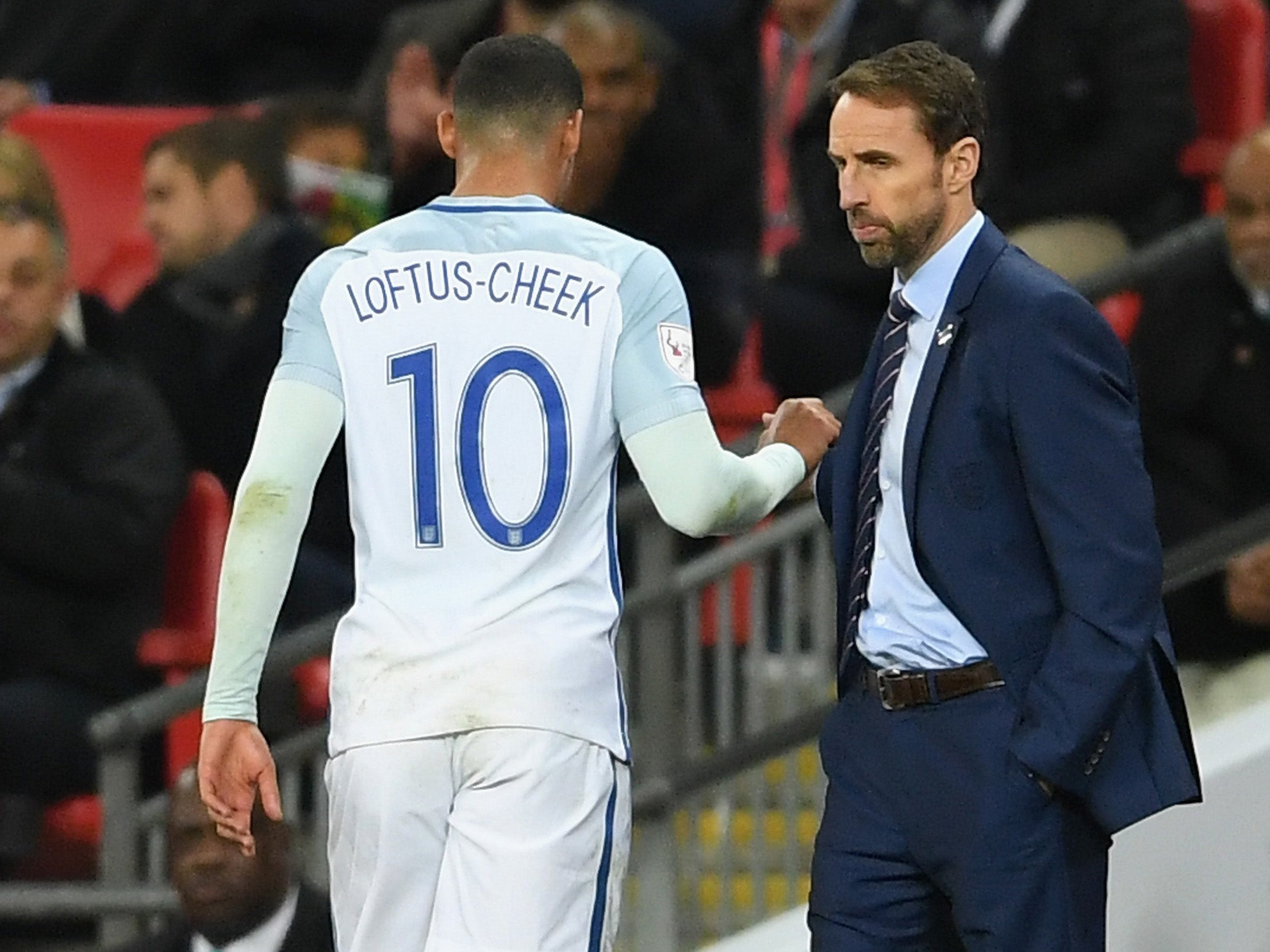 Gareth Southgate calms Crystal Palace fears after Ruben Loftus-Cheek hobbled off injured for England