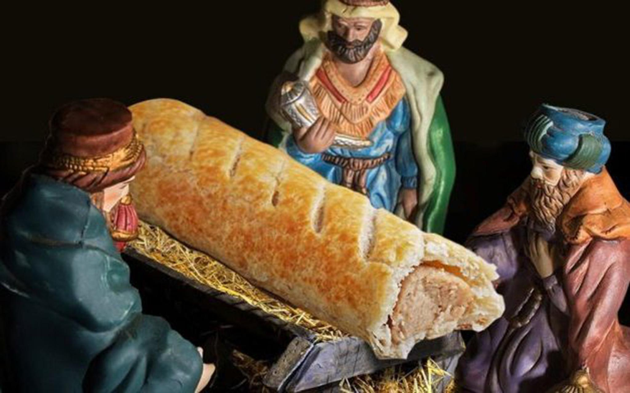 James O'Brien responds to woman furious about Greggs' nativity advert by making her spell Jesus backwards