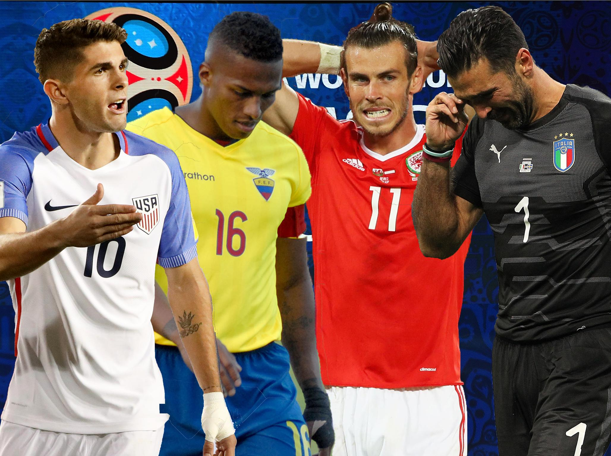Gianluigi Buffon, Alexis Sanchez, Naby Keita and more: The best XI of players not at the 2018 World Cup