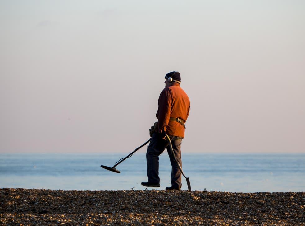 Buried pleasure: metal detecting as a hobby has grown increasingly popular across the country