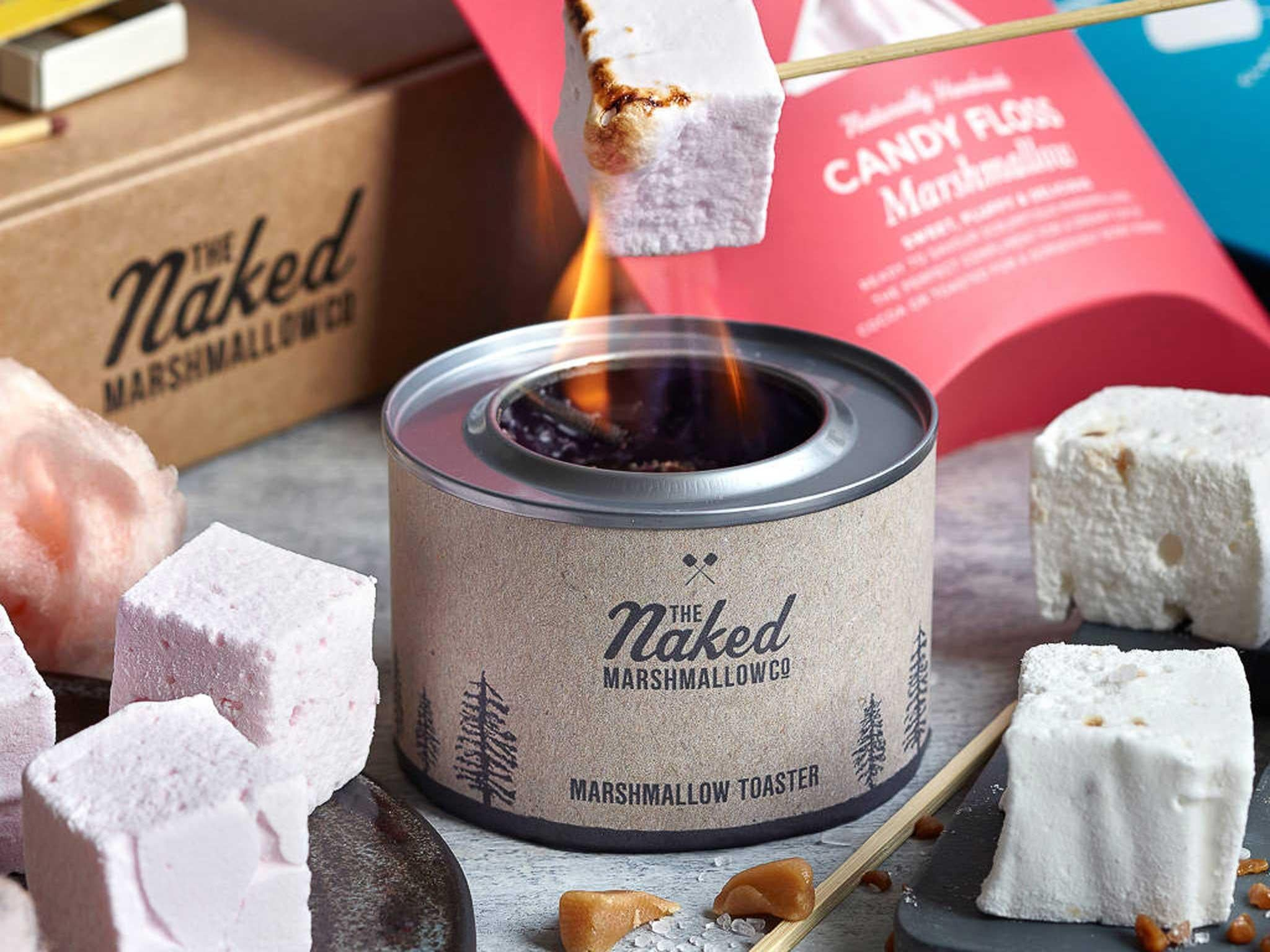 13 best diy food kits the independent naked marshmallow marshmallow toasting kit 20 not on the high street solutioingenieria Image collections