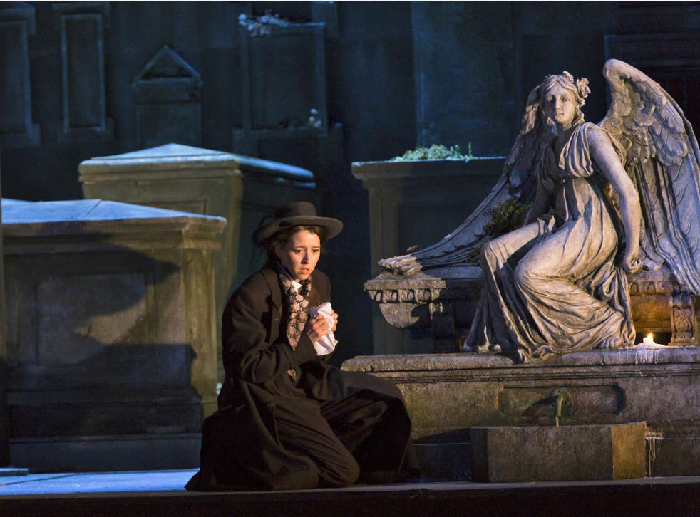 Lisette Oropesa as Lucia in 'Lucia di Lammermoor' at the Royal Opera House