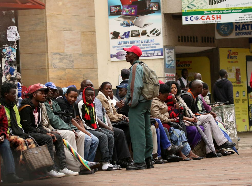 Many of Zimbabwe's young population move to South Africa and Botswana for employment opportunities