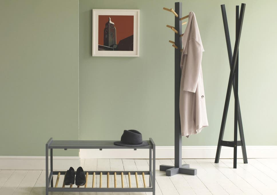 40 Best Coat Stands The Independent New Traditional Dark Walnut Finish Wood Coat Rack