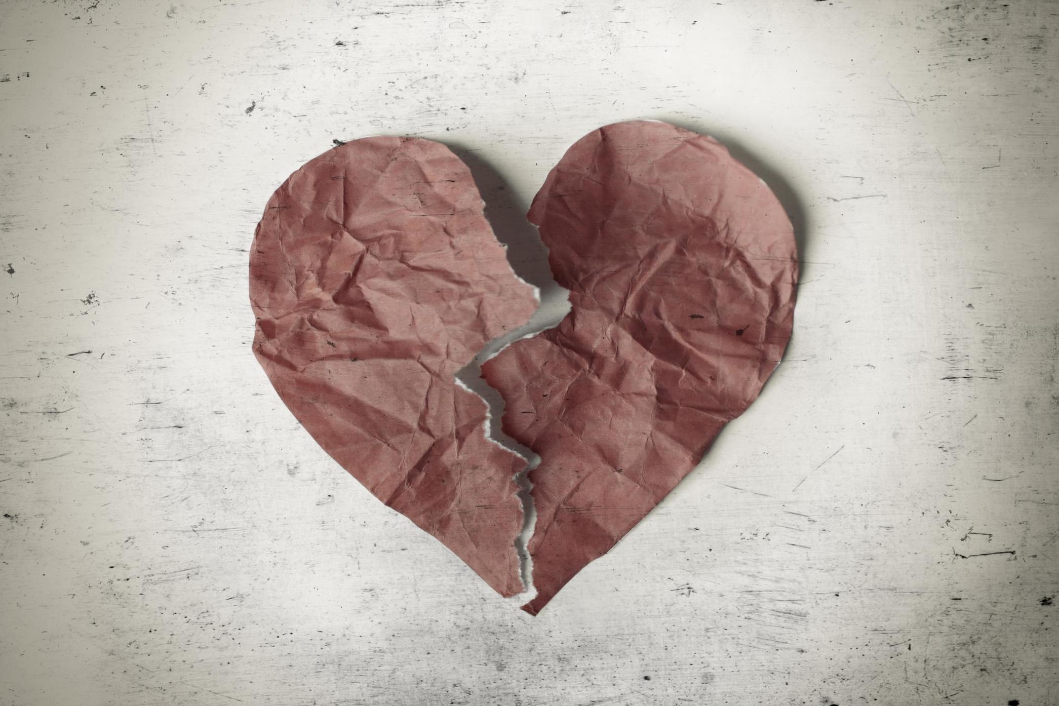 Broken Heart Can Cause Same Type Of Long-lasting Damage As