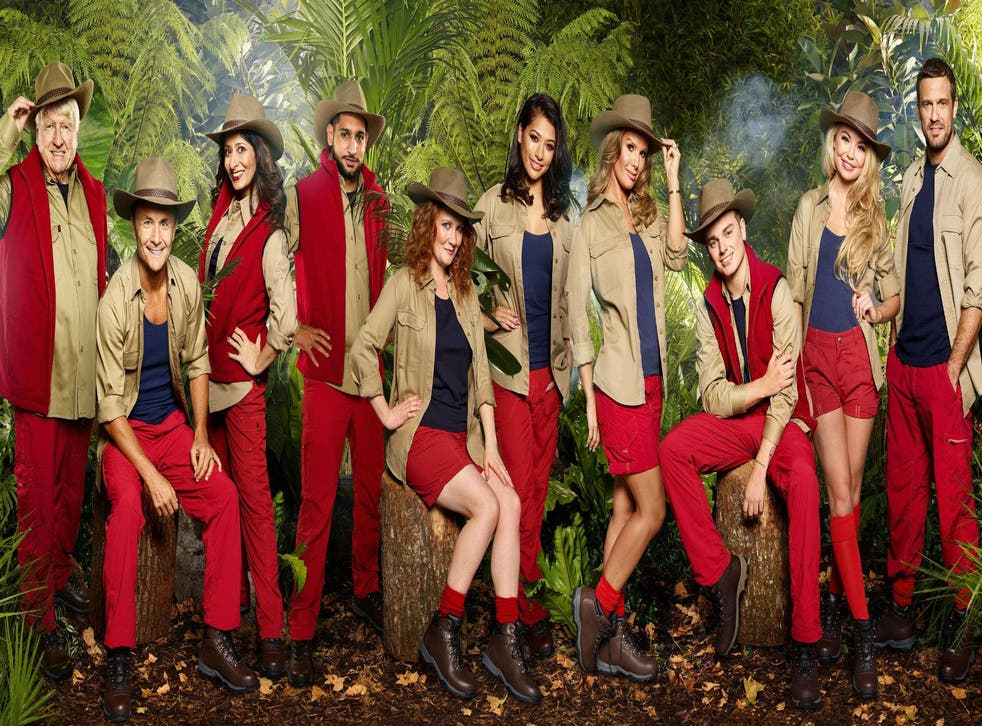 2017 contestants on I'm A Celebrity...Get Me Out Of Here!