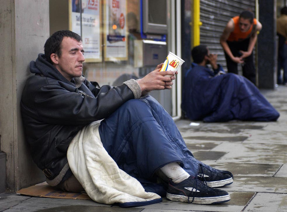 A recent report found more than 300,000 people are now sleeping rough in Britain