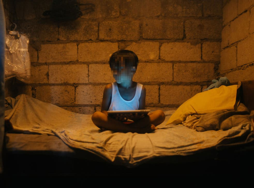 Filipino children, usually under the age of 12, are forced to perform sex acts on themselves or each other, molested by an adult, or abused in other degrading ways [STOCK]