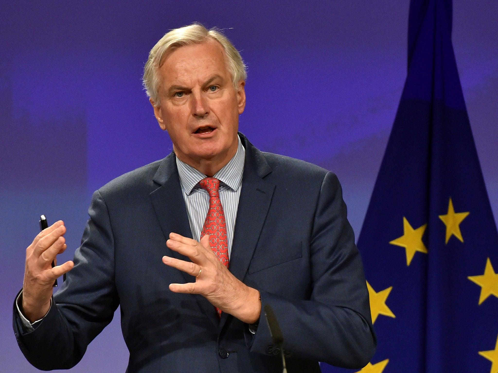 Brexit agreement hopefully in 'next few days', EU chief negotiator Michel Barnier says