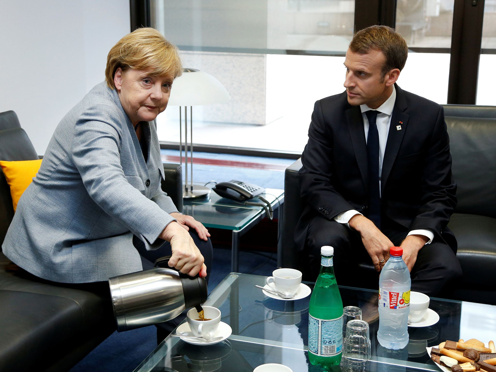 Emmanuel Macron has emerged as de facto head of the EU – and that's bad news for Brexit Britain