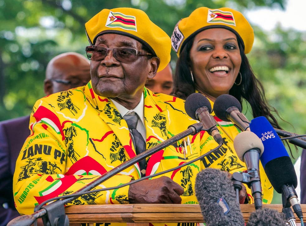 Grace Mugabe was jockeying to become Zimbabwe's next president before her husband was deposed