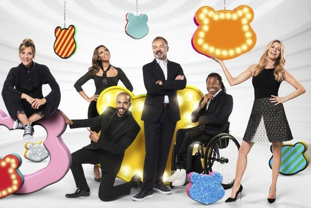 The Children in Need hosts for 2017