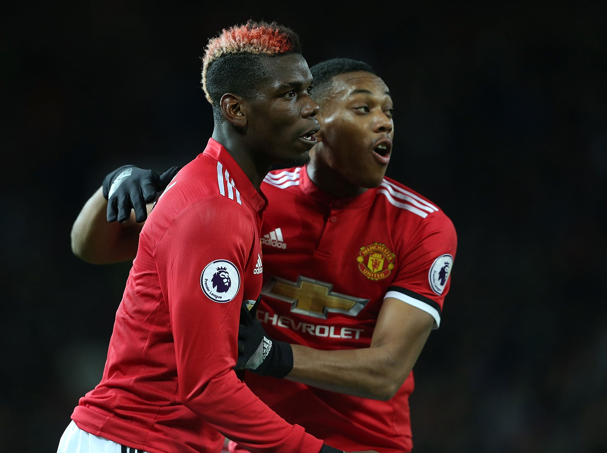 Paul Pogba scores on his return from injury as United thrash