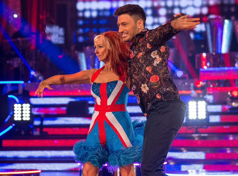 Debbie McGee and Giovanni Pernice performed a Spice Girls-themed samba in Strictly's Blackpool week