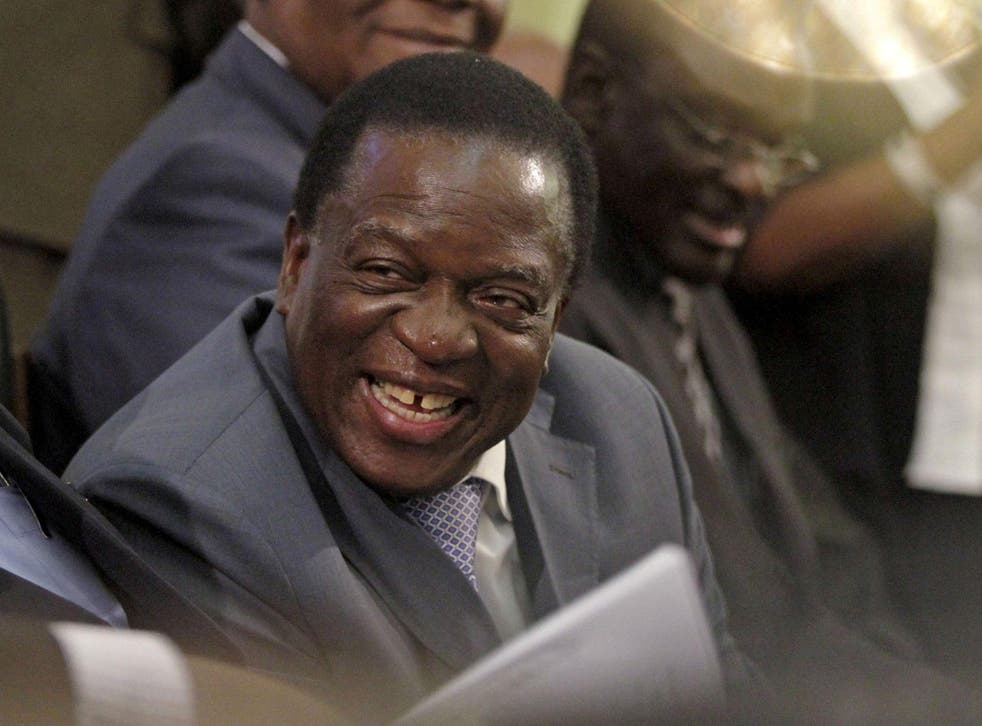 Emmerson Mnangagwa has taken over from Robert Mugabe as leader of the ruling Zanu-PF party