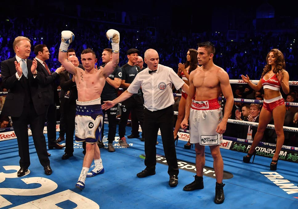 62ec1644 Carl Frampton edges out Horacio Garcia to end terrible year on a high