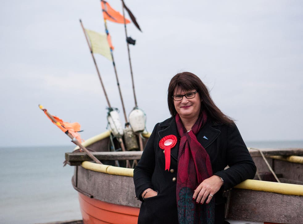 Sophie Cook ran as the Labour candidate for East Worthing and Shoreham in 2017