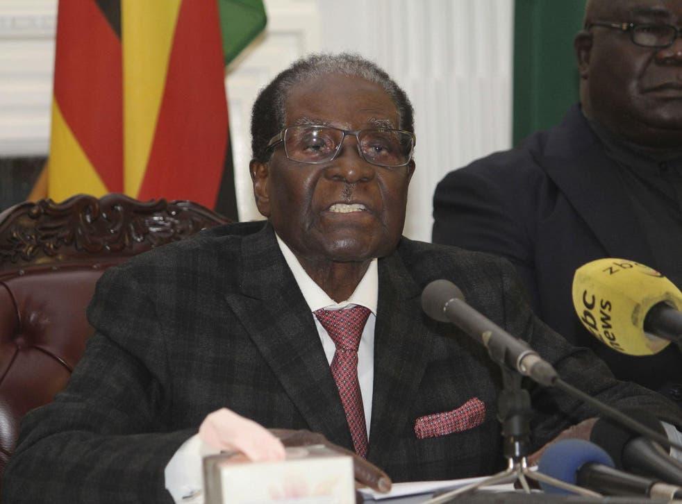 President Robert Mugabe baffled Zimbabwe by ending his address on national television without announcing his resignation