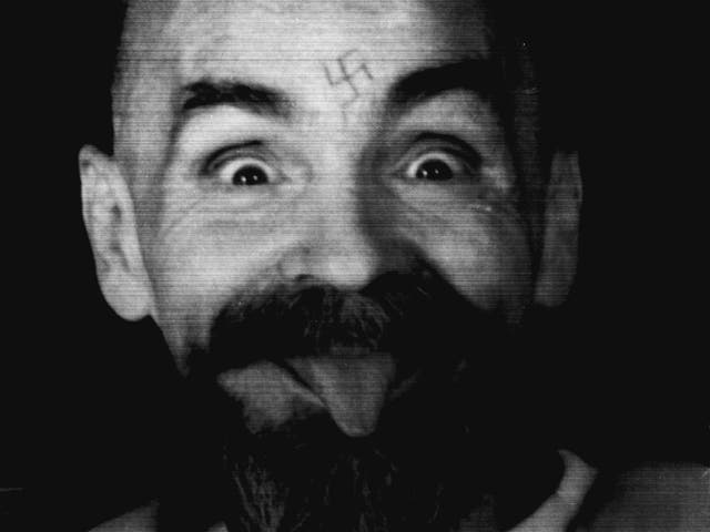 Manson tattoo meaning charles Trippie Redd's