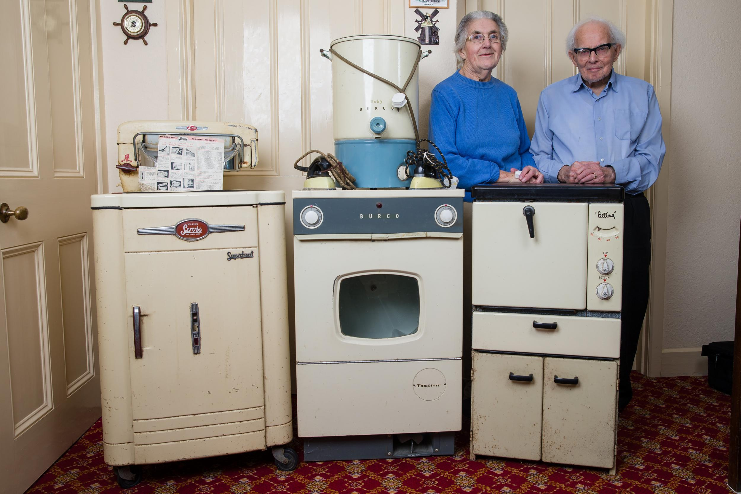 This is incredible - household appliances of the 50s continue to work