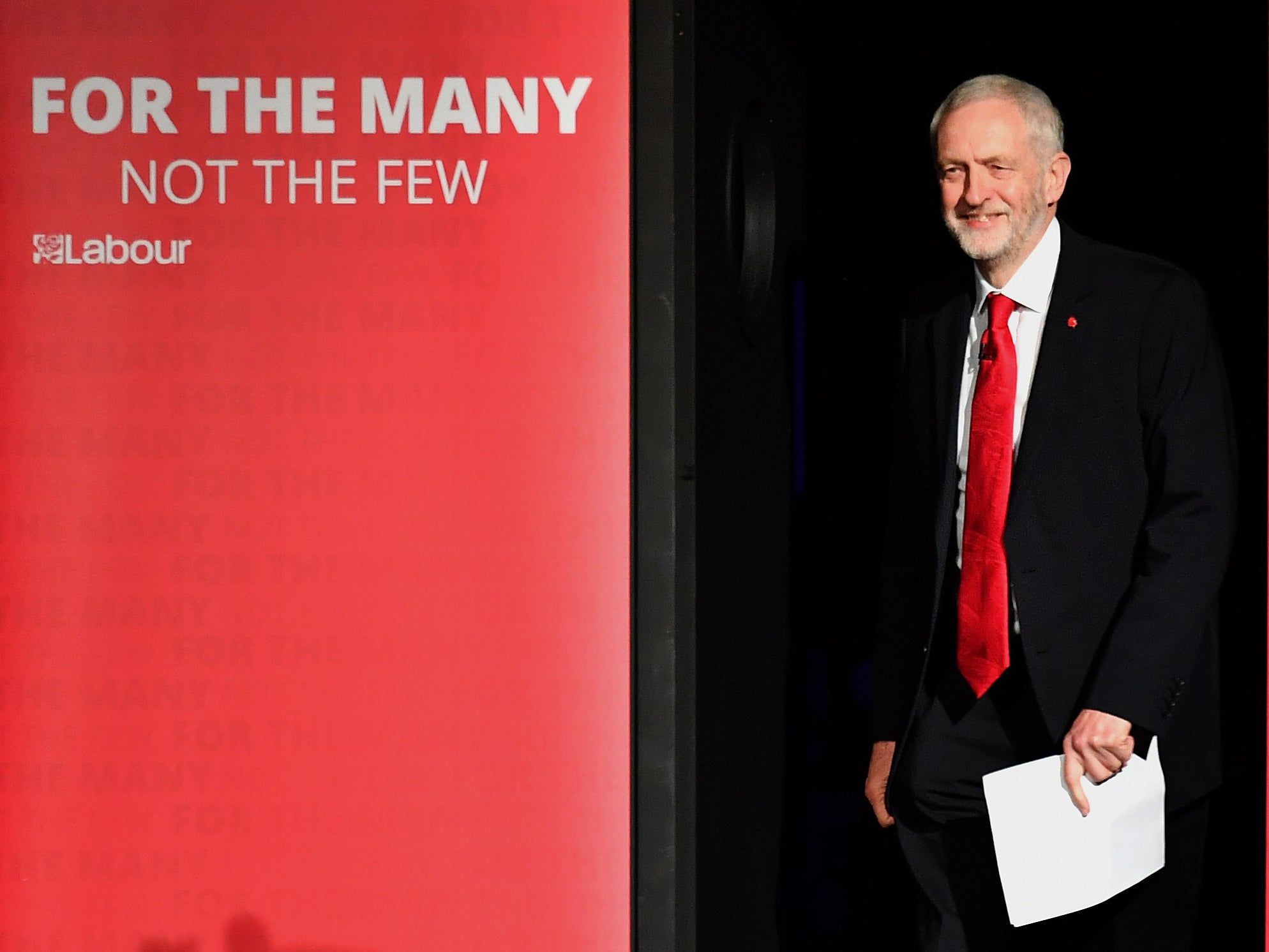 Jeremy Corbyn has told Morgan Stanley it is 'right to see me as a threat'