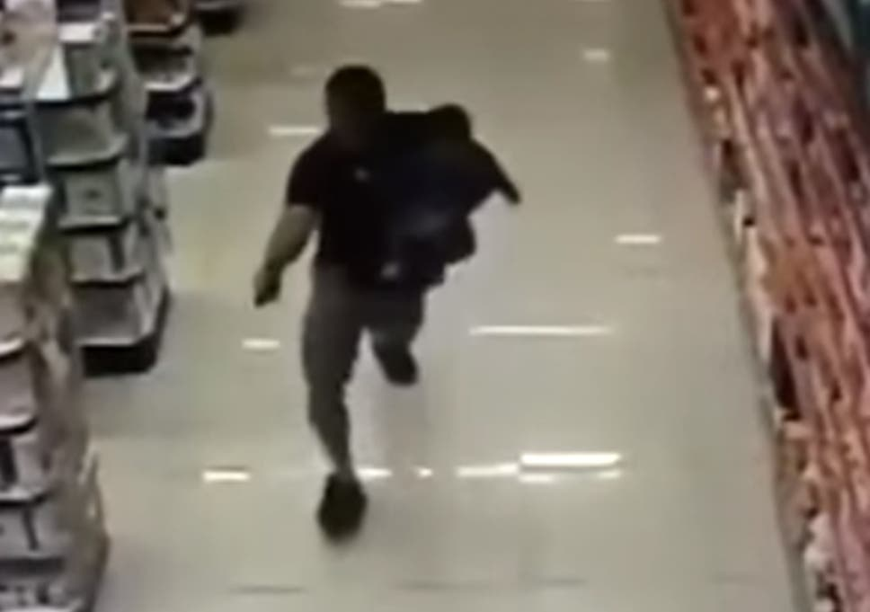officer takes care of a teen thief with his loaded rod