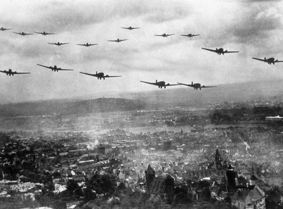 Luftwaffe bombers swooped down over East London to unleash their deadly cargo in 1940