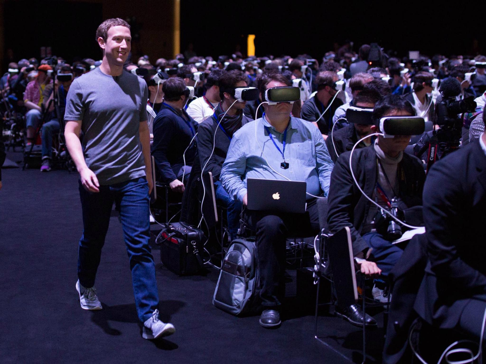 Facebook wants users to browse the web while wearing a headset