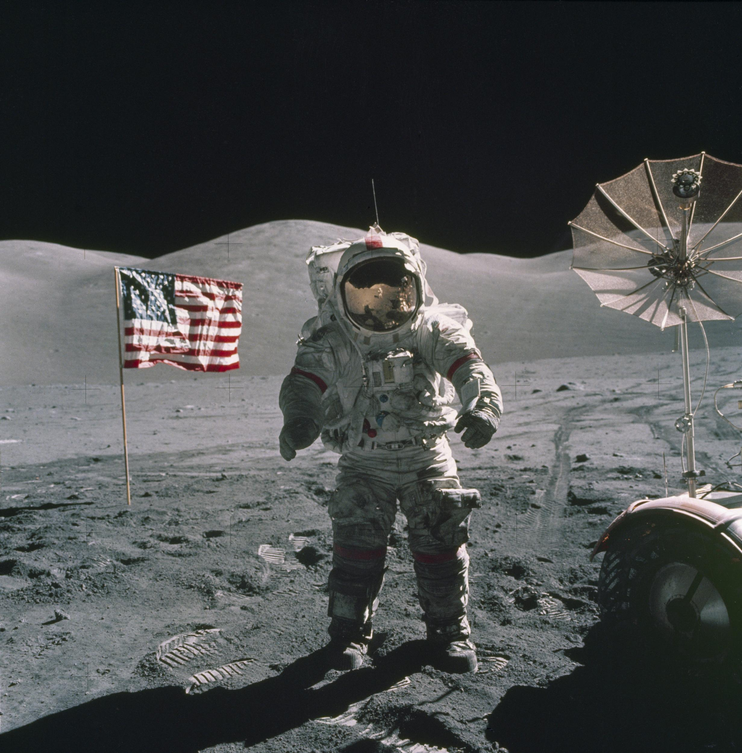 Moon Landings: Conspiracy theorists claim there's something wrong