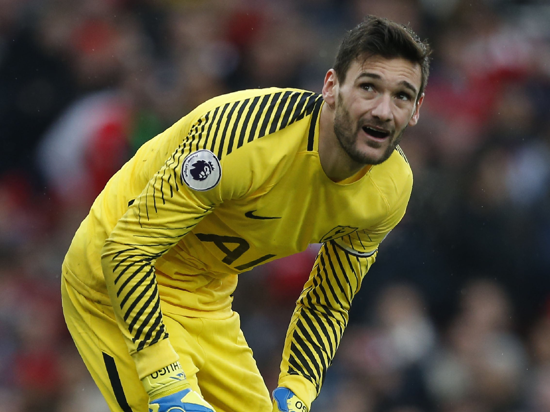 Tottenham must forget title ambitions and focus on staying in top four, warns Hugo Lloris