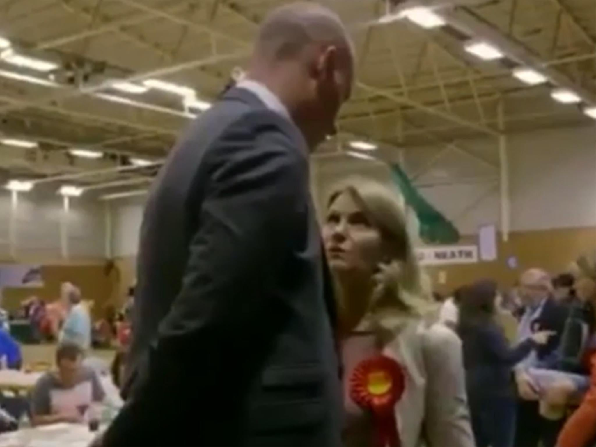 Labour MP's former Danish PM wife gives him public dressing down in BBC documentary