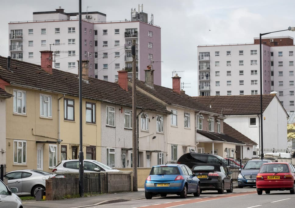 I live in a five-bedroom council house which I don't need