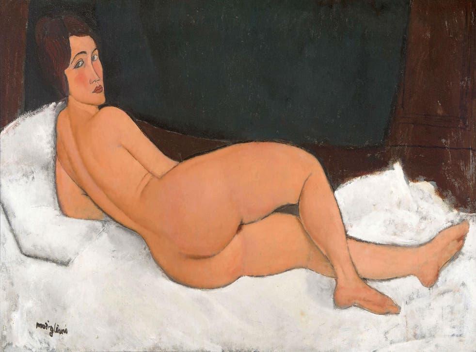 'Nude', 1917, by Amedeo Modigliani (1884-1920)