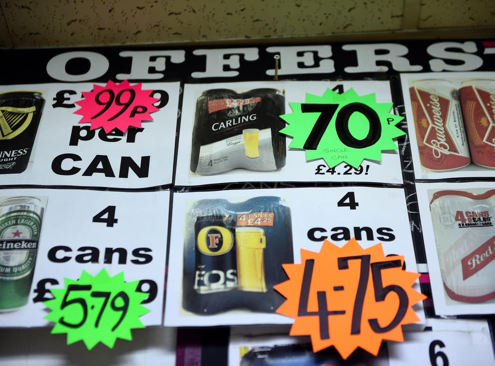 The new law will see an average price increase for all alcohol units currently less than 50p of 35.1%