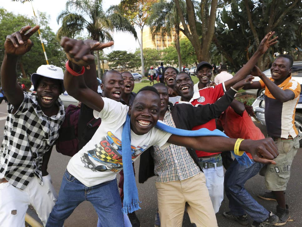 Parliament erupted in cheers and citizens celebrated