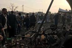 Iraqi car bomb attack kills at least 24 people