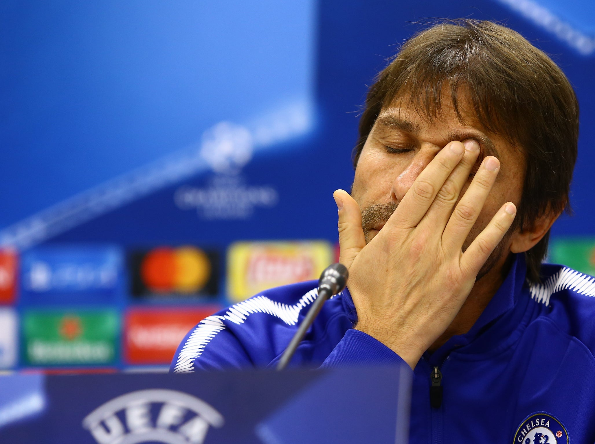 Antonio Conte questions whether congested fixture list at the heart of Chelsea's Champions League troubles