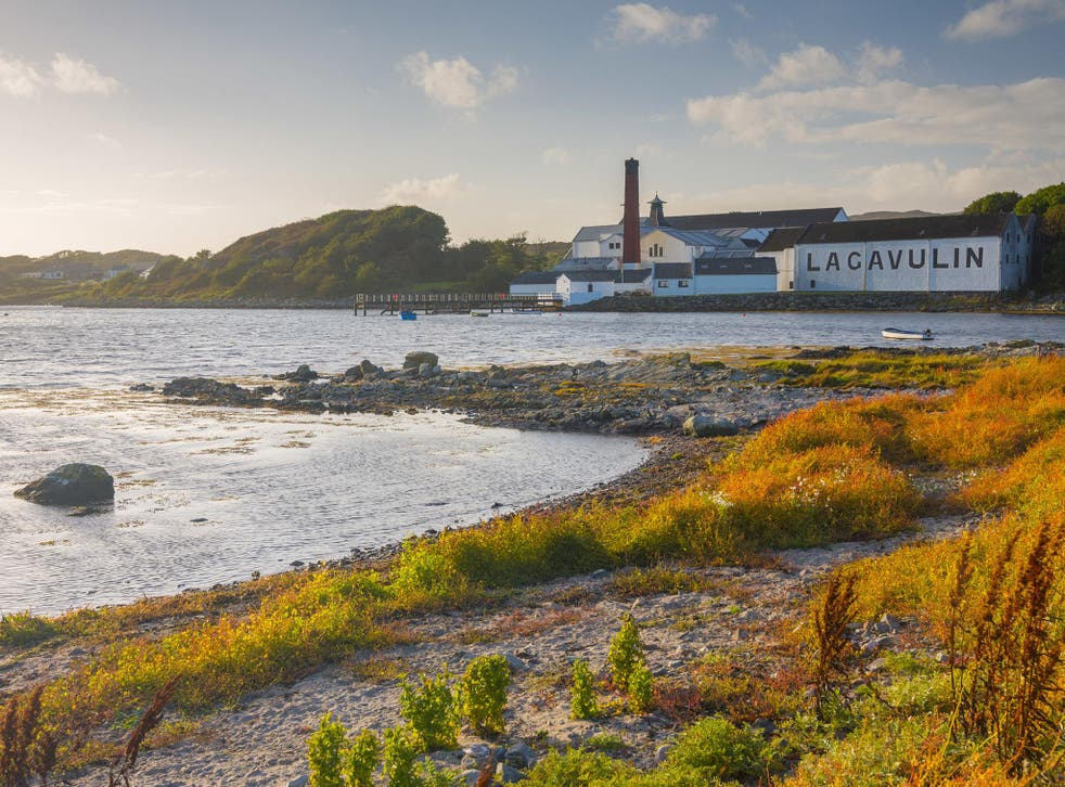 Lagavulin Distillery is one of two on Islay owned by Diageo, the world's largest spirits producer